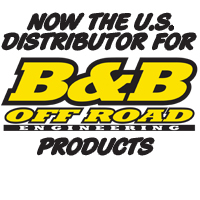 Now the U.S. Distributor for B&B Off Road Engineering